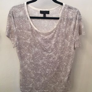 Gently used Banana Republic Satin Trim top
